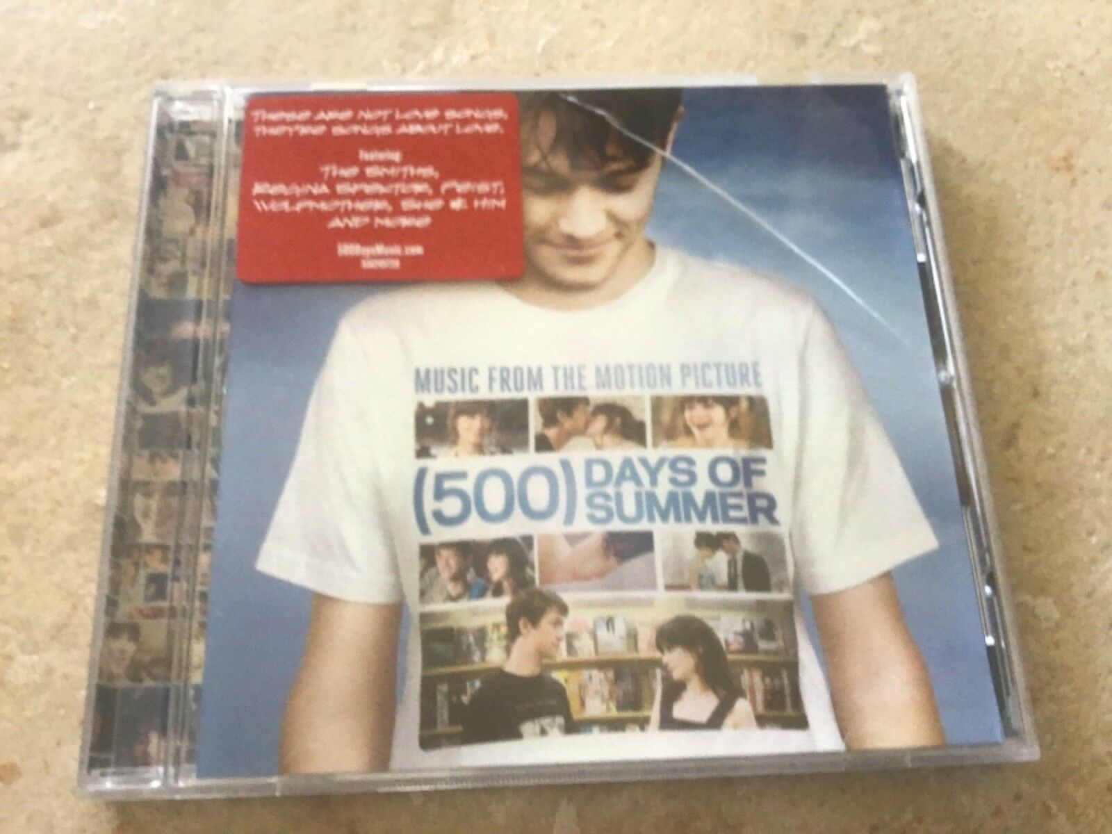 500 Days Of Summer Soundtrack Cd 16 Songs Smiths Regina Spektor Wolfmother For Sale Online