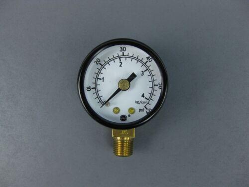 """Air Pressure Gauge 0-60 PSI 1//8/"""" NPT #28-1358"""