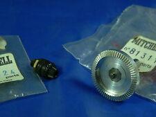 1 NEW Mitchell 308 (1976/78) pignione e corona pinion & main gear 82424 81311