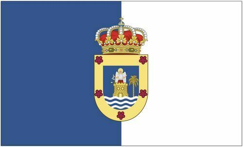 Lanzarote Hissflagge 90 x 150 cm Flagge Fahne Spanien