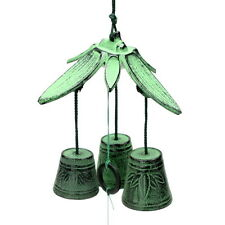 1pc Japanese Green Bamboo Leaves  Wind-Chime for Made In Japan #485-092