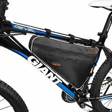 Ibera Bicycle Triangle Frame Bag Bike Large Storage Saddle Top Tube Outdoor New