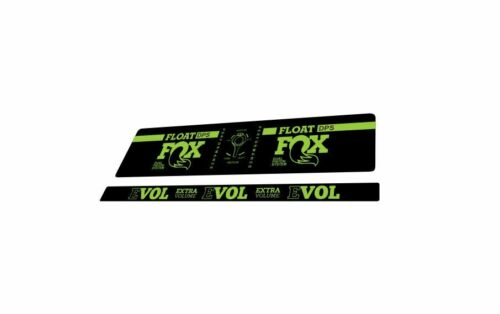 FOX DPS Float EVOL Performance 2018 Rear Shock Sticker Factory Decal Green
