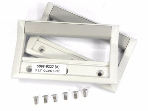 """Quartz Gray 5.25/"""" H 3U 132.6mm Agilent HP Keysight 5063-9227 Front Handles"""