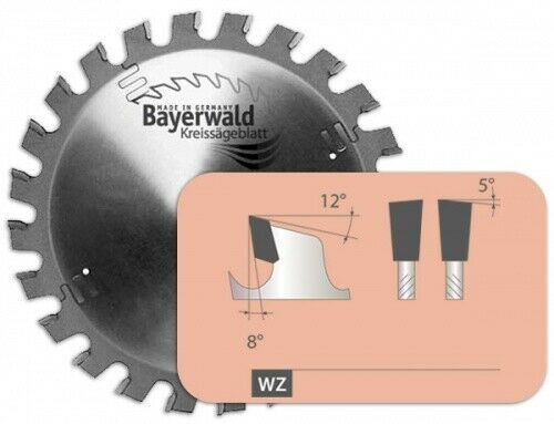 HM Kreissägeblatt - Ø 400 mm x 3,5 mm x 30 mm   Z=60 WZ