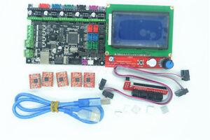 MKS-Gen-L-3D-Printer-Controller-Replace-Ramps-amp-Mega-2560-12864-LCD-5x-A4988