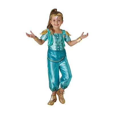 Rubie's Shimmer and Shine, Shine Childs / Girls Fancy Dress Costume
