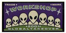 Alien Workshop - Old School NOS Skateboard Sticker - skate board bmx snow 20