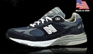 hot sale online 90686 62194 Details about NEW NIB Men's New Balance 993 Made In USA Running Shoes  MR993NV All Sizes Navy