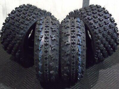 4 WANDA ATV Race tires 22x7-10 /& 20x10-9 fit for Honda TRX 250R 300EX 400EX 400X 450R