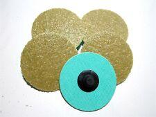 3m Roloc 86745 2 Inch 120 Mesh Diamond Cloth 674w Grinding Disc Lot Of 5