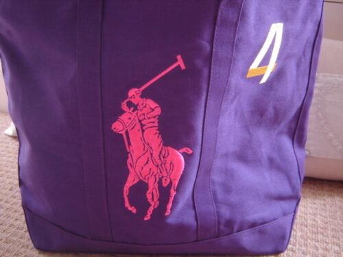 4 Big p Tote⭐️ P Tfurph borsa Lauren⭐️the gratuito Pony Nuova Purple ntxYwSqxp