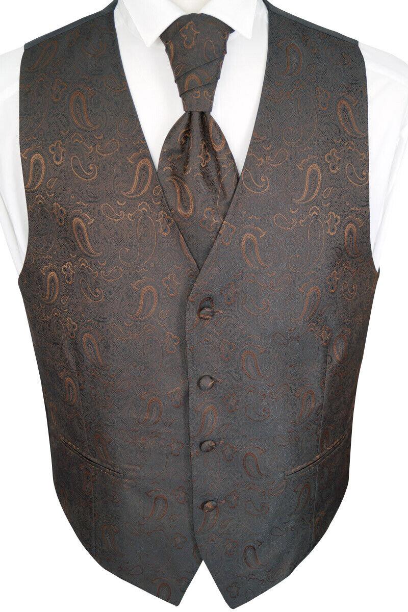Wedding Waistcoat With Plastron Handkerchief And Tie 4-tlg. Model No 23.7