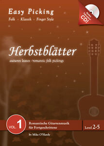 Easy Picking:Herbstblätter Vol. 1 NOTEN-TAB-CD,Folk Fingerstyle,Hanika - Deutschland - Easy Picking:Herbstblätter Vol. 1 NOTEN-TAB-CD,Folk Fingerstyle,Hanika - Deutschland