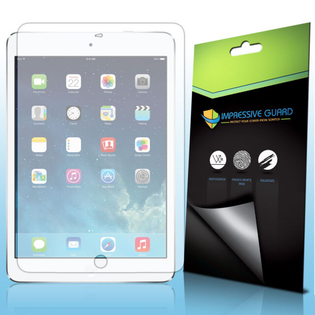 3X CRYSTAL CLEAR SCREEN PROTECTOR GUARD FILM COVER FOR APPLE IPAD AIR 2 Ipad 5 6