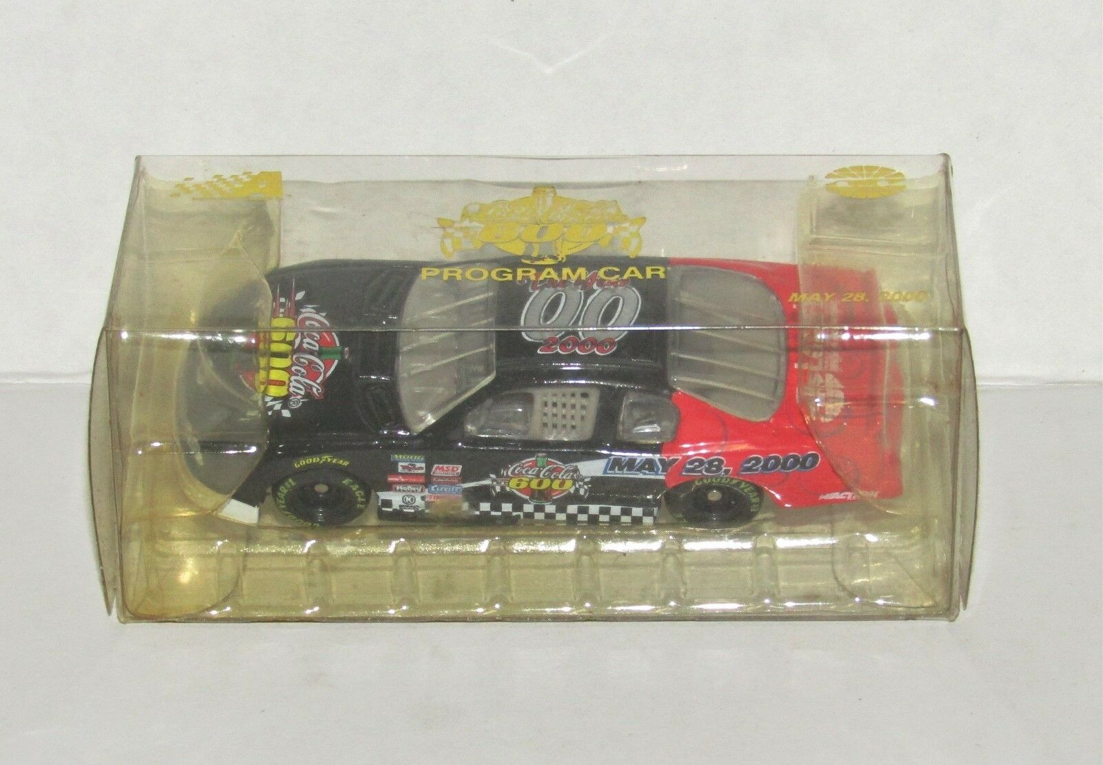 NASCAR Action 2000 Charlotte Coca-Cola 600 Program Car 1 64 Diecast Car