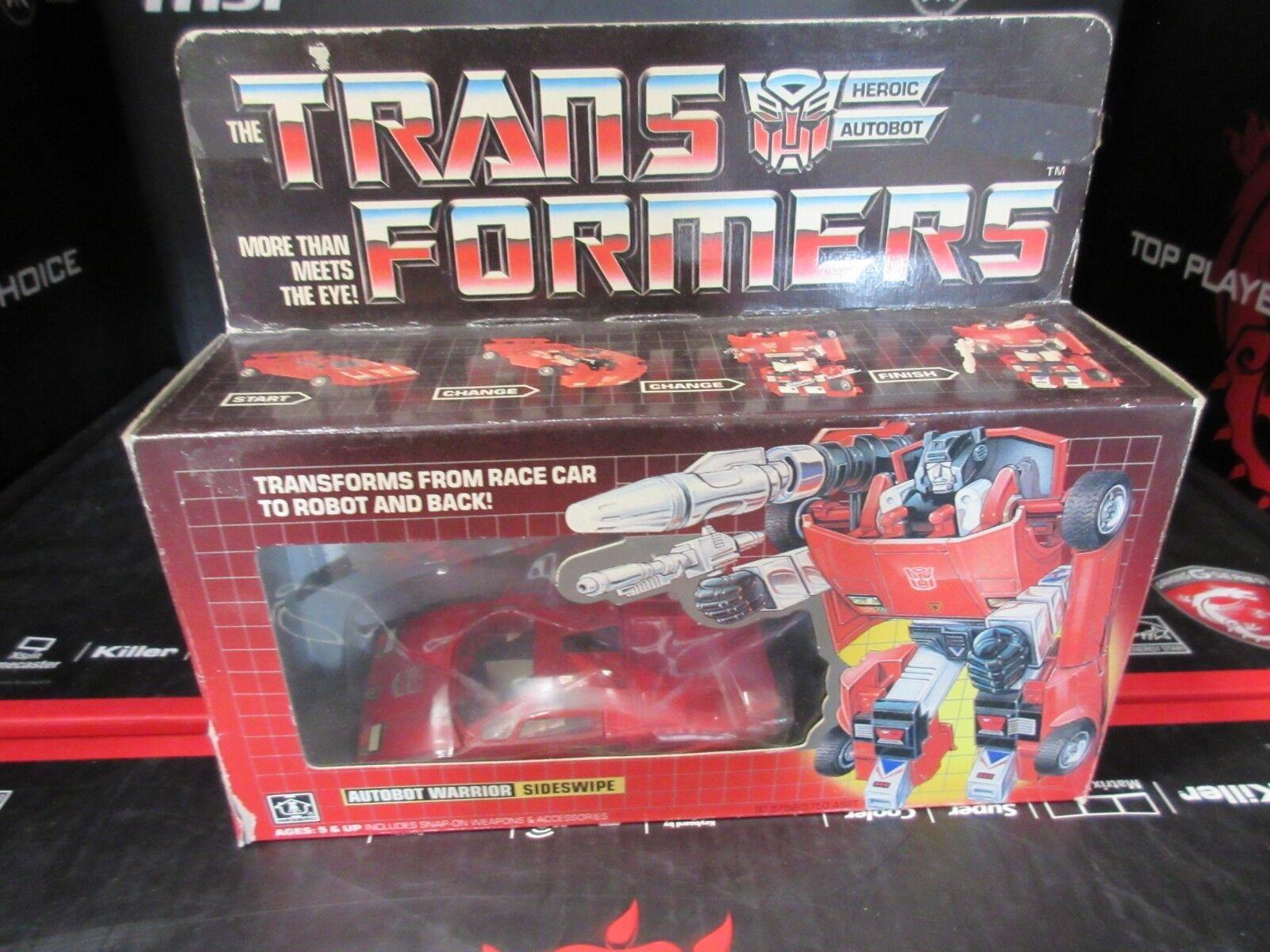 Transformers Autobot Warrior  SideSwipe 1984