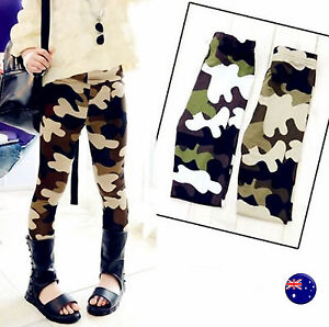 194c298e92edb3 Image is loading Girl-boy-Kids-Children-Army-Military-Camouflage-Green-