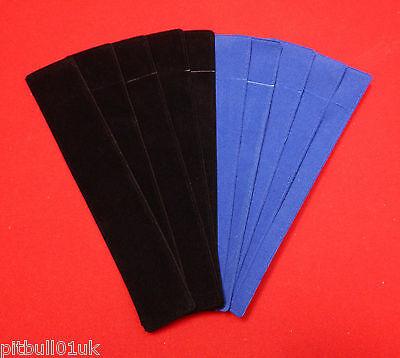 Woodturning Velvette Pen Sleeves - Black or Blue