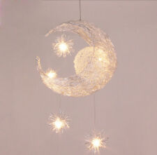 Child Kid Bedroom Pendant Lamp Light Ceiling Kids Moon&Star Children Chandelier
