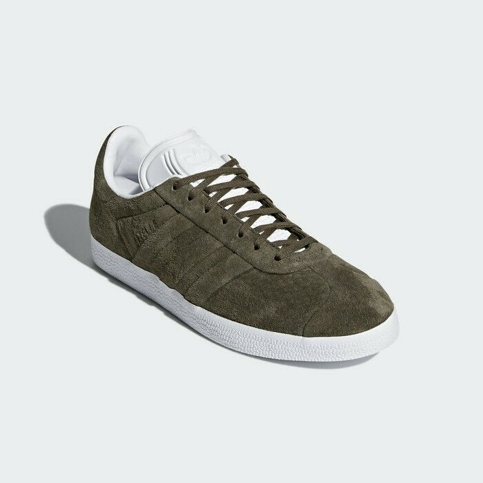 NIB ADIDAS GAZELLE STITCH AND TURN SUEDE BRANCH KHAKI GREEN CQ2359 ALL SIZES