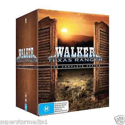 Walker, Texas Ranger Complete Series: Seasons 1-8 = NEW R4 DVD Box-Set