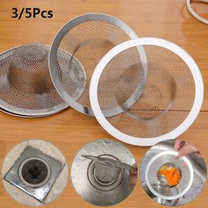 Hair-Clean-Up-Shower-Sewer-Waste-Catcher-Sink-Strainer-Mesh-Trap-Drain-Filter