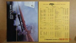 Details about 1990 Anschutz Sporting Catalog - DEALER PRICING