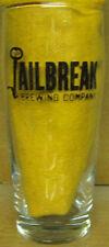 JAILBREAK BREWING, ROCK STAR ENGINEER 6 1/2 pint Beer GLASS Laurel MARYLAND RARE
