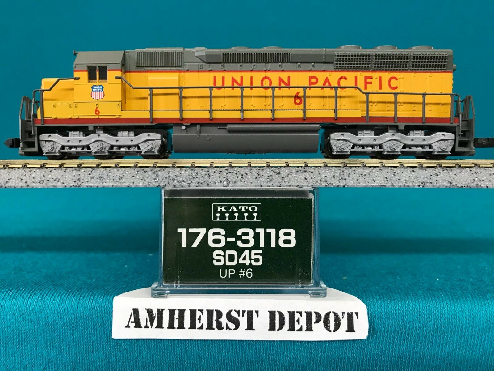 Kato Engine SD-45 Union Pacific N Scale UP Locomotive 176-3118