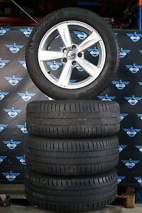 orig-Satz-Sommerraeder-Volvo-C30-C70-S40-V50-205-55-R16-91H-Michelin-Alu