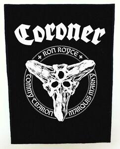 CORONER-BACKPATCH-SPEED-THRASH-BLACK-DEATH-METAL