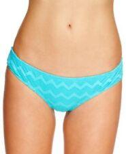 Roxy Bikini Bottom Sz M  Cheeky Brief Chevron Crochet Bikini Swim Bottom