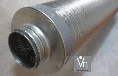 Telefonía silenciador 80 100 125 150 160 180 200 tubo ventilación 1000mm Lang tsdd