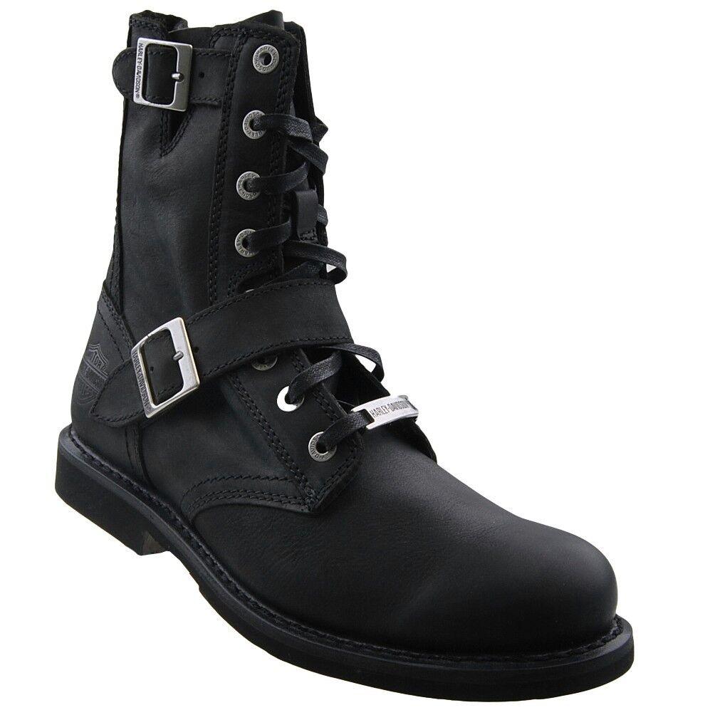 Neu HARLEY DAVIDSON Herrenstiefel D95264 Stiefel Stiefelette Stiefel Leder Schuhe