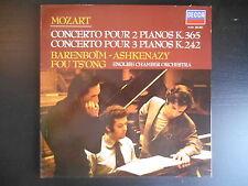 """Mozart - Concerto pour 2 pianos - Barenboïm - Ashkenazy - Fou Ts'Ong"""