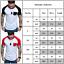 Mens-Summer-Raglan-Sleeve-Casual-Tops-Baseball-T-Shirt-Slim-Muscle-Tee-Shirts thumbnail 3