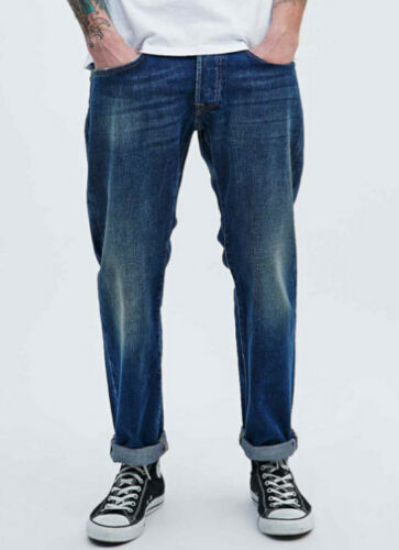 160 € g14 Ed Listed Val Relaxed Tapered Edwin L34 Jeans W33 Selvage 55 bianco 8xfOqF5w7