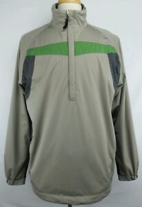 d286bbce7092 Image is loading Authentic-Nike-Golf-Fit-Storm-Waterproof-Pullover-Packable-