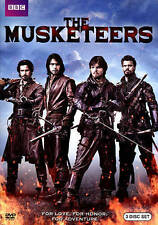 The Musketeers: First Season 1 (DVD, 2014, 3-Disc Set)