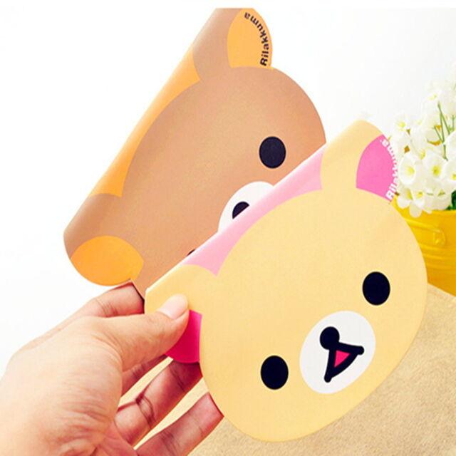 1 Mix Rilakkuma Bear Diary Notebook Memo Pocket Stationery Note Pad Pocketbook