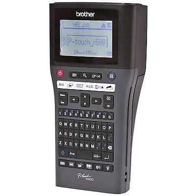 Brother P-Touch H500 Beschriftungsgerät mit PC-Anschluss 180 dpi USB