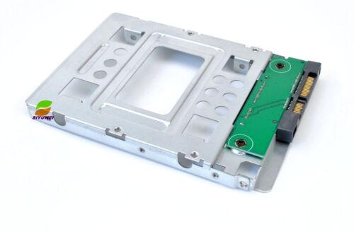 "654540-001 2.5/"" SSD to 3.5/"" SATA Adapter Tray Converter SAS HDD Bracket Bay"