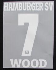 HSV Hamburger SV WOOD Player Flock 25 cm fürs adidas Away Trikot 2016-2017