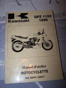 Fiable K0 Manuel D'atelier/workshop Service Manual Kawasaki Motocyclette Gpz1100 1995 ExtrêMement Efficace Pour Conserver La Chaleur