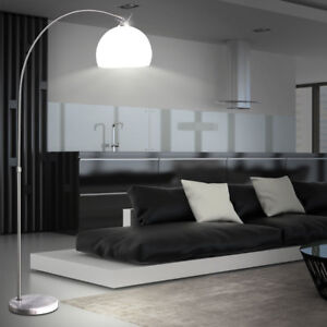 Das Bild Wird Geladen Stand Leuchte Wohnzimmer  Esszimmer Beleuchtung Steh Lampe Marmor