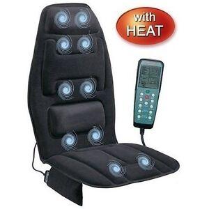 Cushion-Chair-Massage-Back-Heat-Seat-Massager-Neck-Lumbar-Shoulder-Vibrating-New