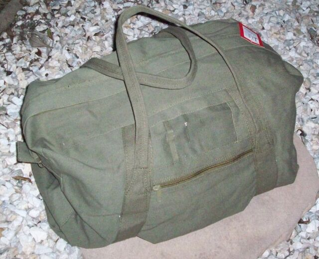 """CARRY BAG CADETS / TOOLS 24"""" - ECHIE BAG  OLIVE GREEN CANVAS"""