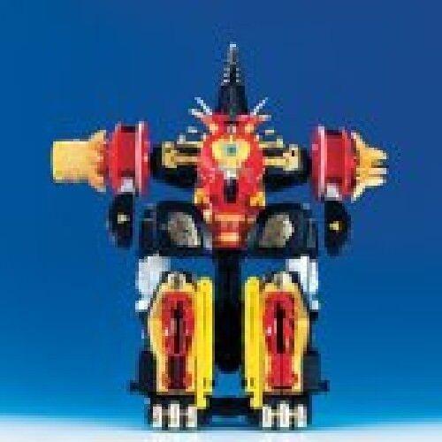 Power Rangers Dino Donner Mezodon Megazord Abaranger Selten
