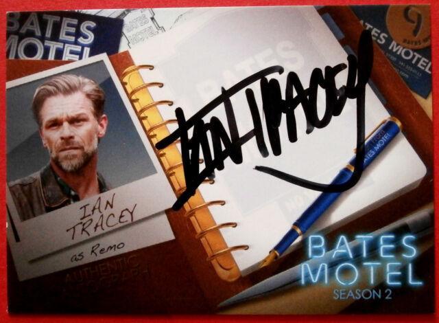 BATES MOTEL - IAN TRACEY as Remo - Autograph Card - AIT1 - Breygent Marketng
